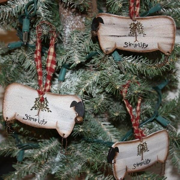 deco adornos navidad madera