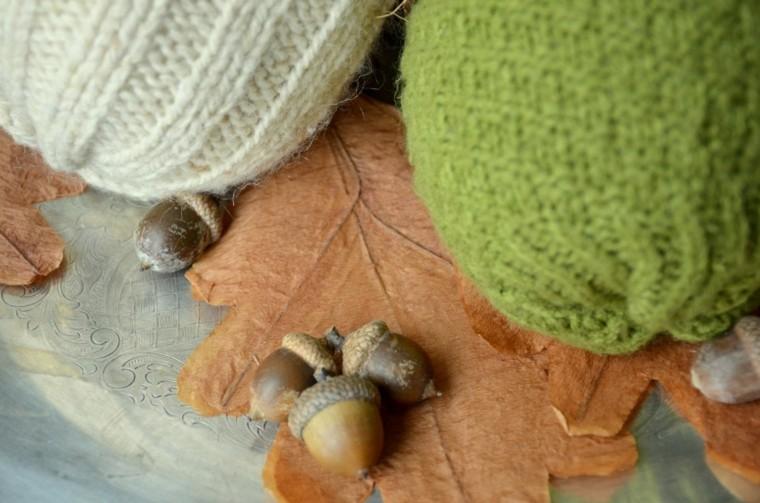 decoración belltas gigantes lana