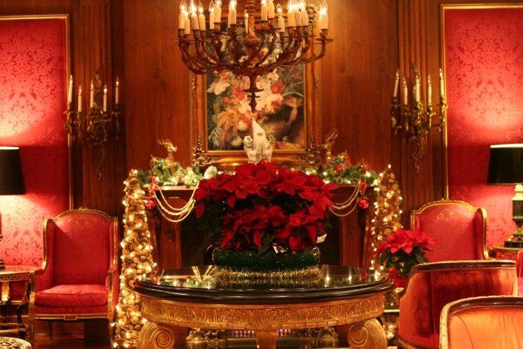 decoracion clasica salon lujoso