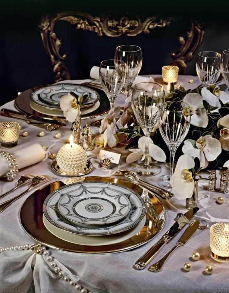 decorar mesa copas cristal