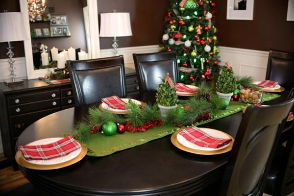 decorar mesa servilletas rojas