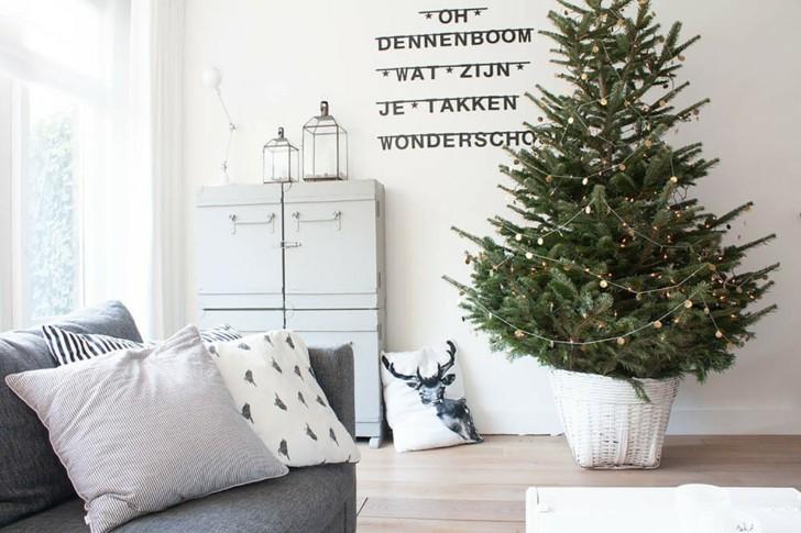 decoración minimalista color blanco