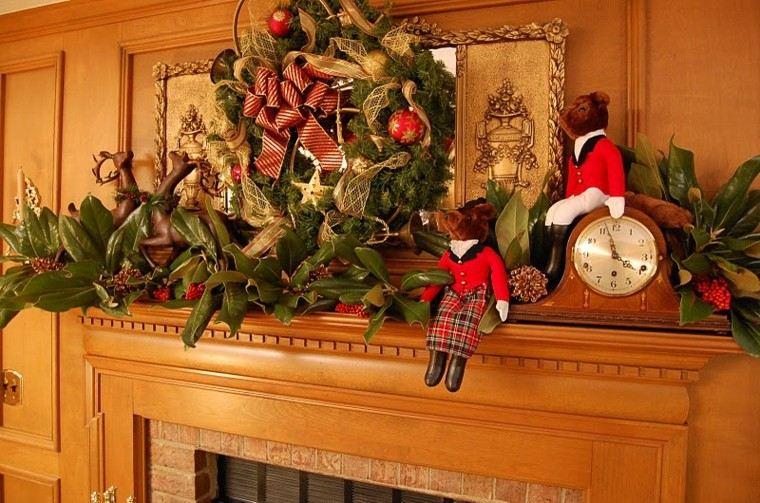 decoración navidad adornos magnolia