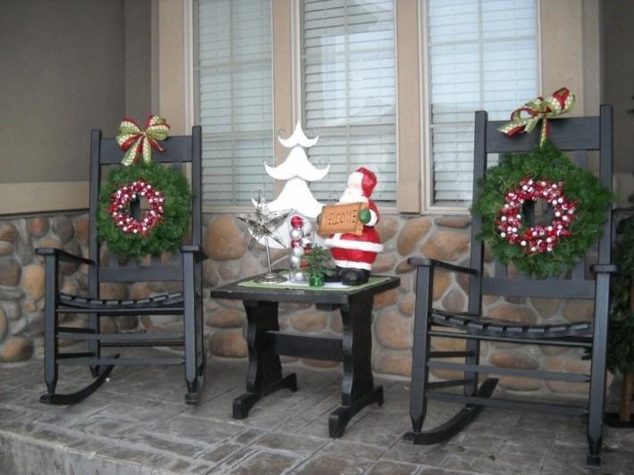 decoración navidad conjunto muebles