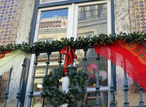 decoración navidad mantoncillo manila