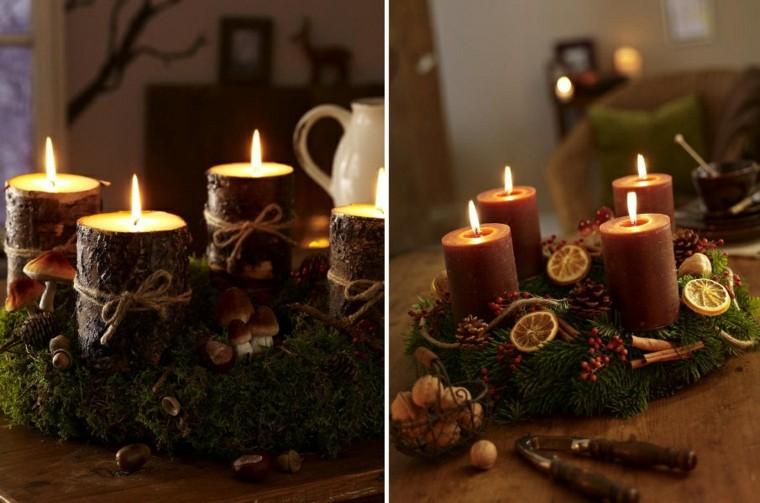 Decoracion rustica navideña   veinticinco ideas geniales