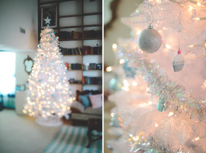 Blanca navidad de estilo vintage ideas para decorar su hogar - Decoracion navidad vintage ...