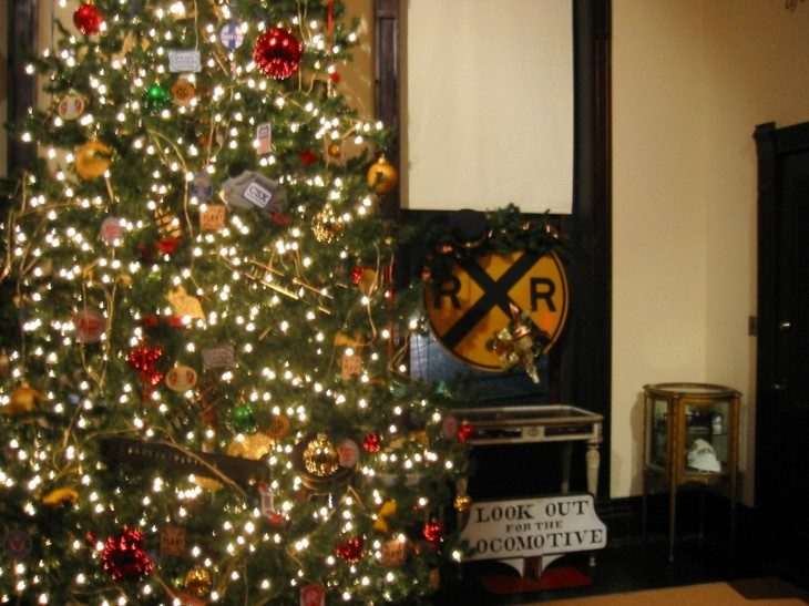 decorar navidades estilo retro