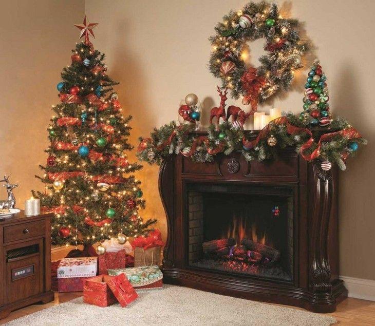 decoración navideña estilo vintage
