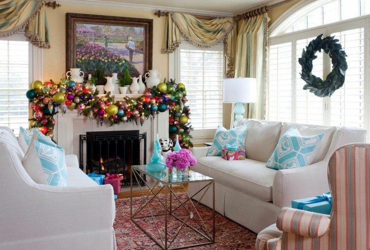 decoración navideña estilo moderno