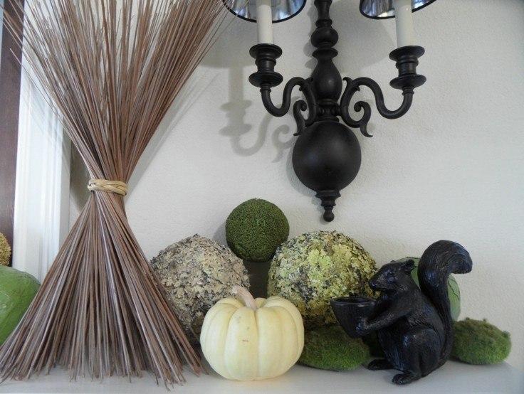 decoración otoño estilo moderno