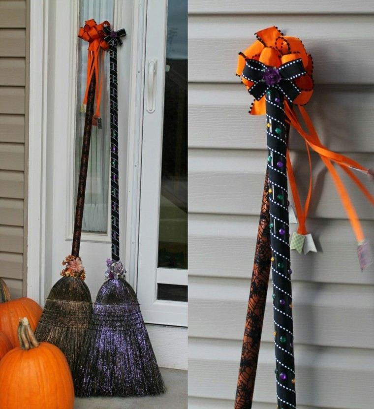 decor puerta fiesta halloween