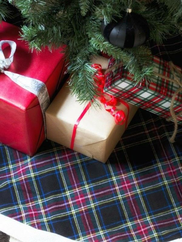 decoración regalos motivos escoceses
