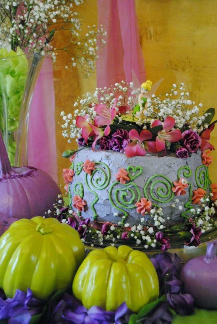 decorar calabaza color verde