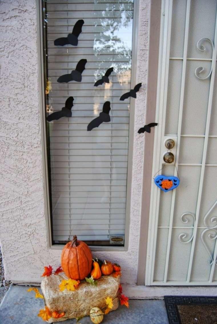 decoración adornos halloween murcielagos