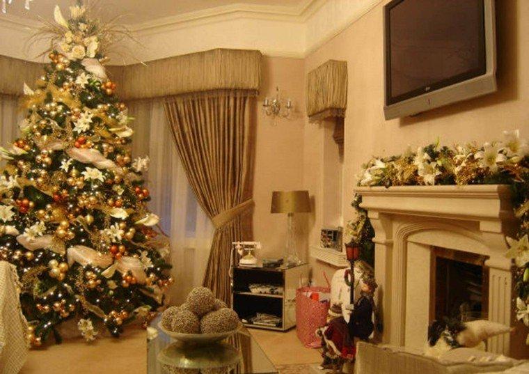 Decoracion navide a chimeneas adornadas preciosas - Dibujos de chimeneas de navidad ...