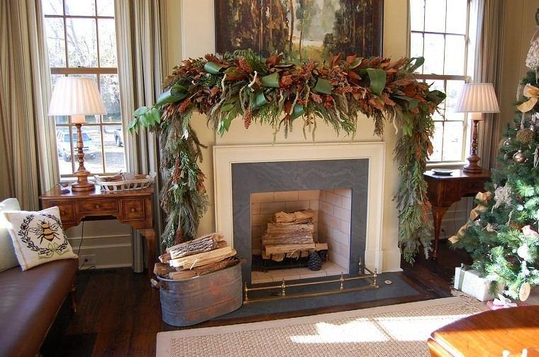 decoracion de navidad colores vibrantes decorar casa cultivador ideas