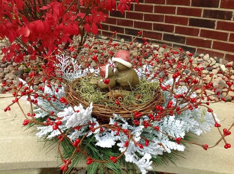 decoracion de navidad colores vibrantes decorar casa nidoideas