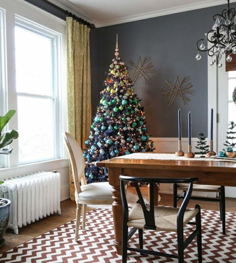 decoracion navidad ideas para decorar arbol moderno ideas
