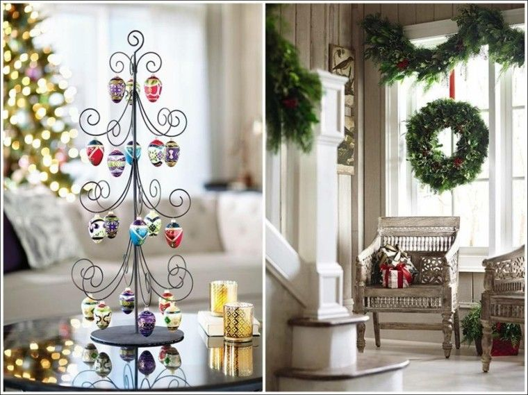Decoracion de navidad ideas para decorar casas peque as - Ideas originales decoracion navidad ...
