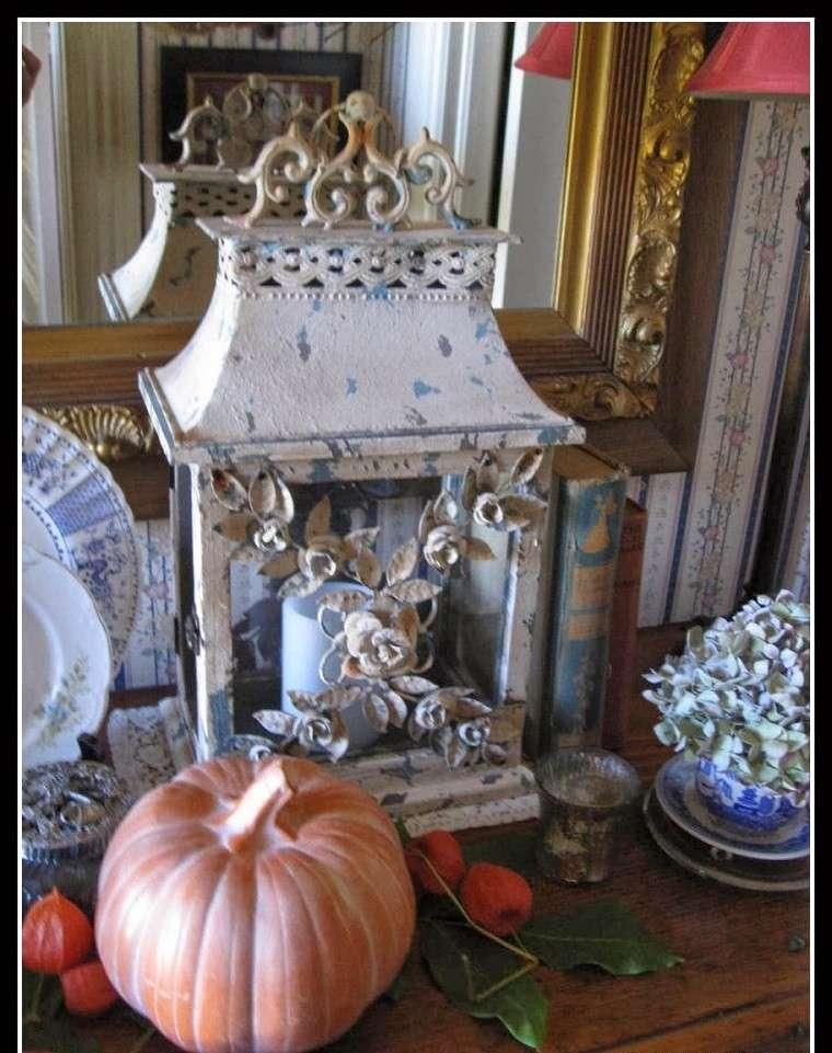 decoracion farolas iluminacion velas calabaza ideas