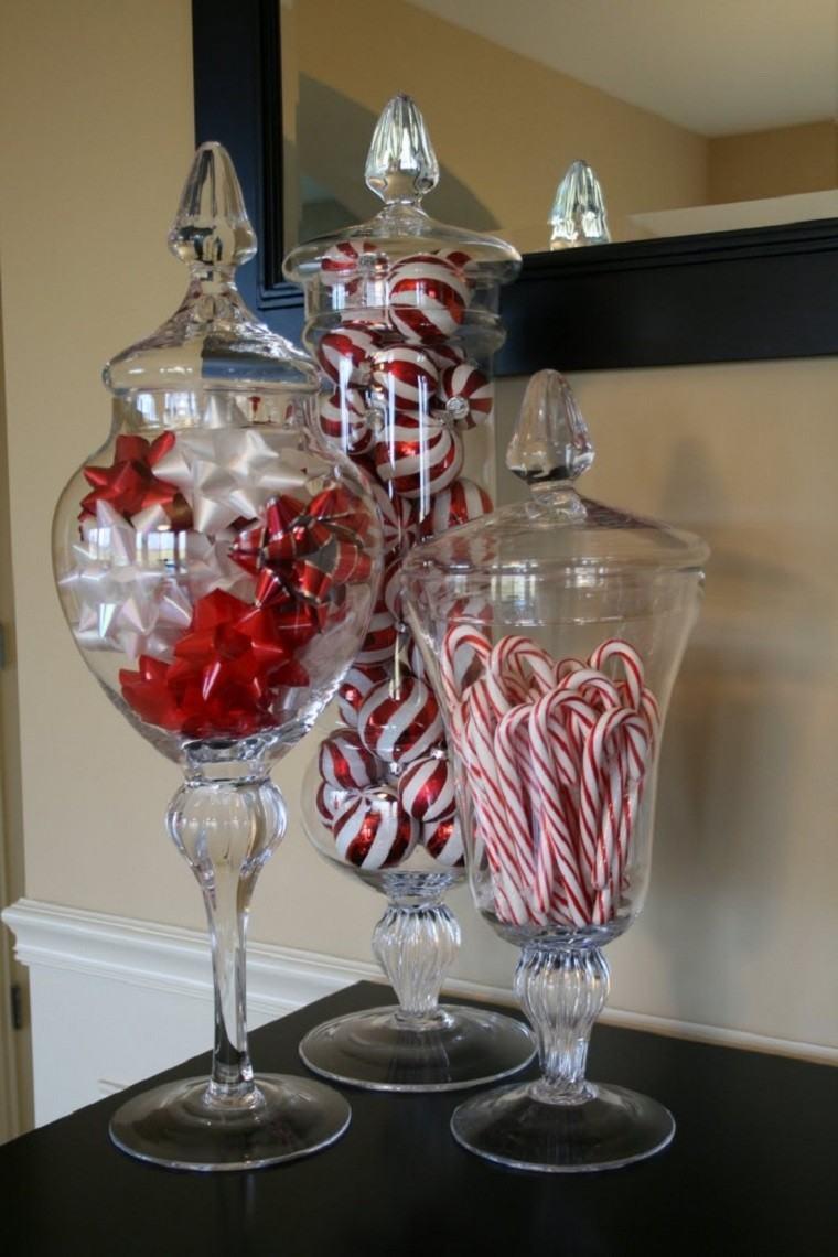 decoracion navidad colores vibrantes decorar casa caramelos ideas