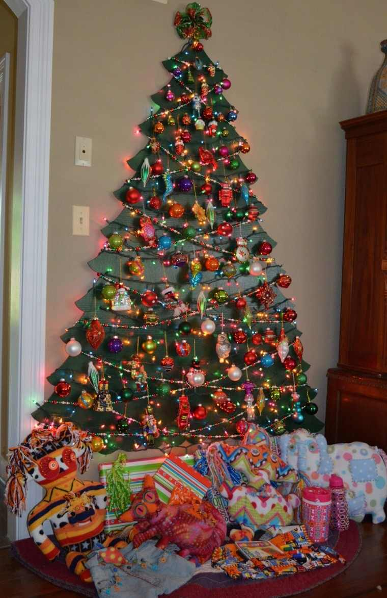 Decoracion De Navidad Colores Vibrantes Para Los Adornos