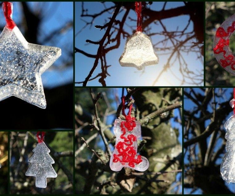 decoracion navidad estrella campana arbol navidad ideas