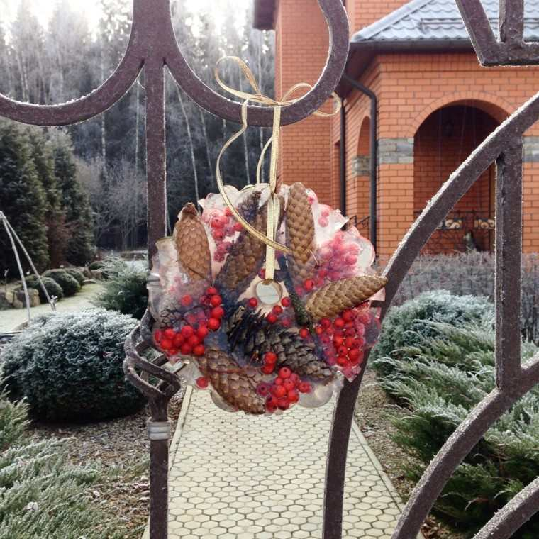 Decoracion navidad hielo para decorar el jard n for Adornos de navidad para jardin