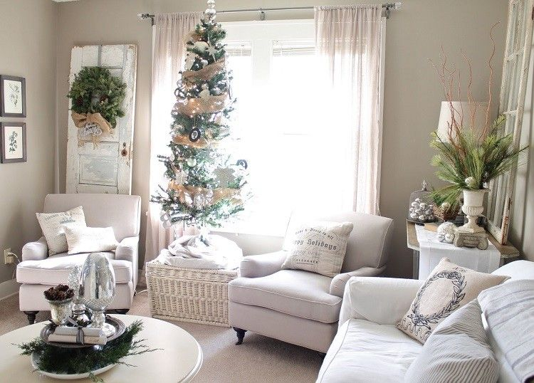 Xmas Coffee Table Decor Living Rooms