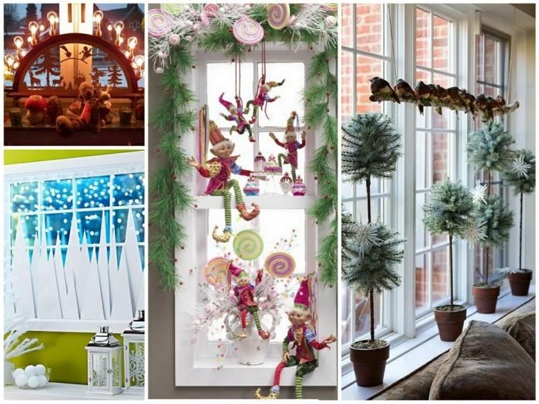 Decoracion Ventanas Navidad ~ Campanas de navidad para decorar el hogar ? 50 ideas