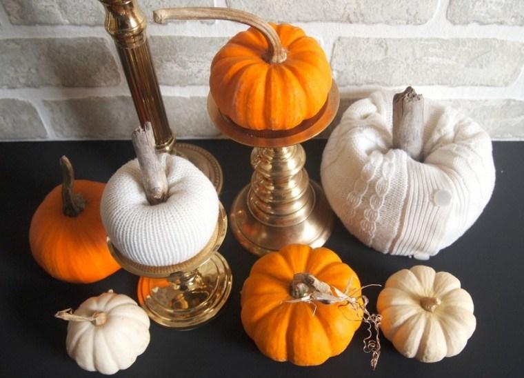 decoraciones caseras colores otoño