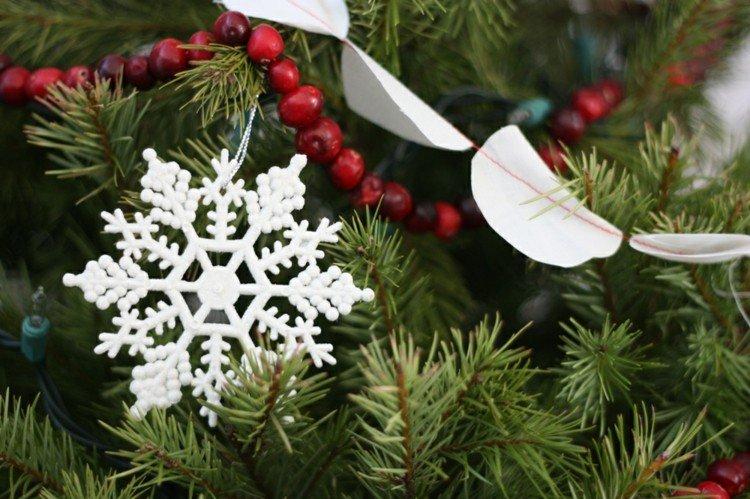detalles decorado estilo ideas nieve copos