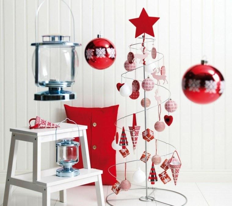 diseño adornos navideños estilo nordico