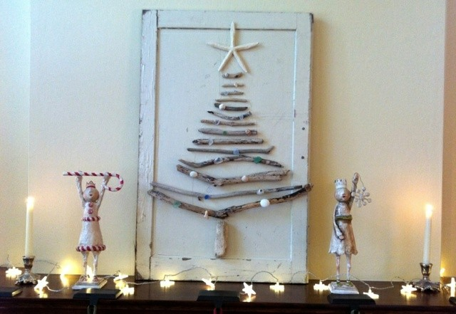 diseño arbol navidad madera deriva