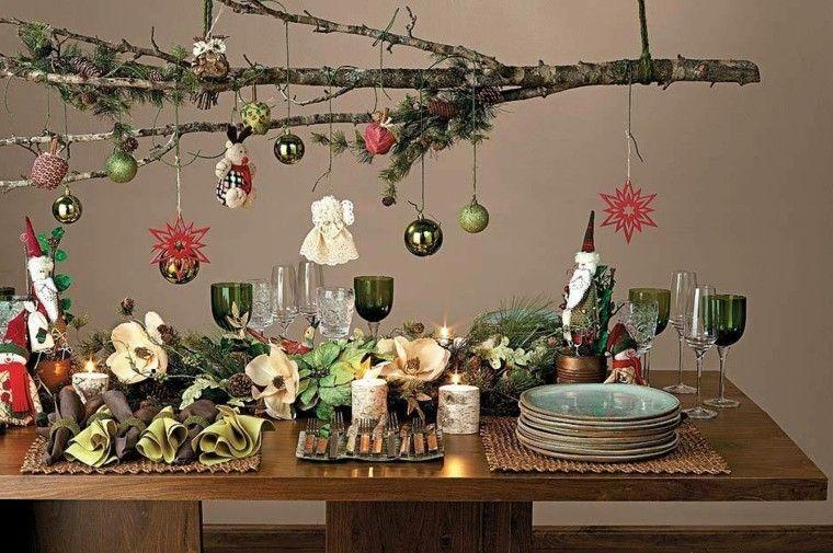 Decoraciones navide as para el hogar - Decoracion navidena natural ...
