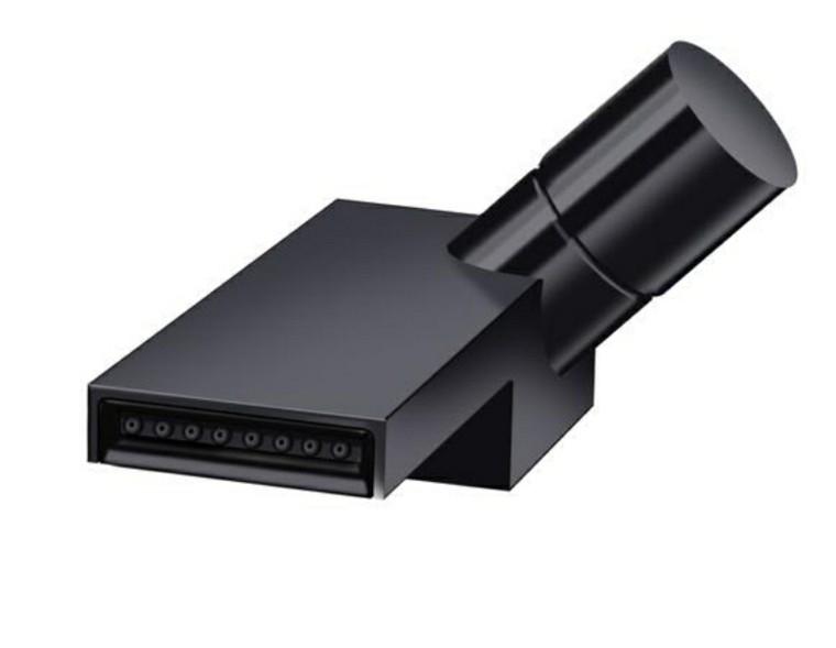diseño grifos modernos negros