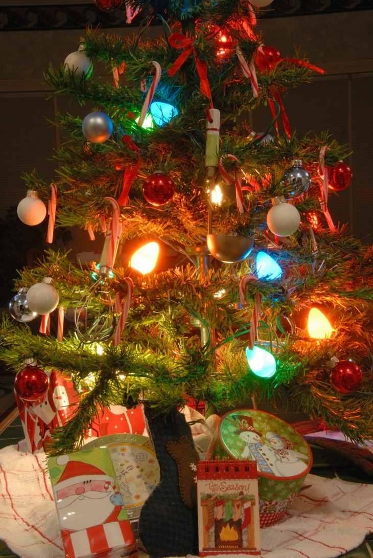 Rboles de navidad de estilo vintage originales ideas - Decoracion navidad vintage ...