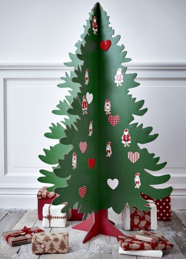 Arboles de navidad artesanales una alternativa ecol gica Disenos de arboles de navidad