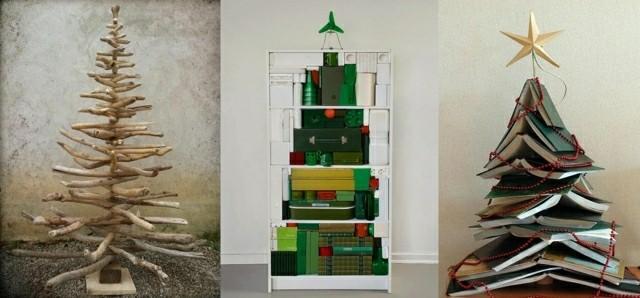 diseños modernos abetos navidad libros