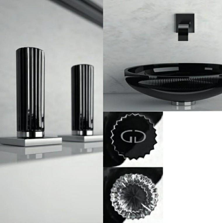 diseños grifos negros modernos llaves