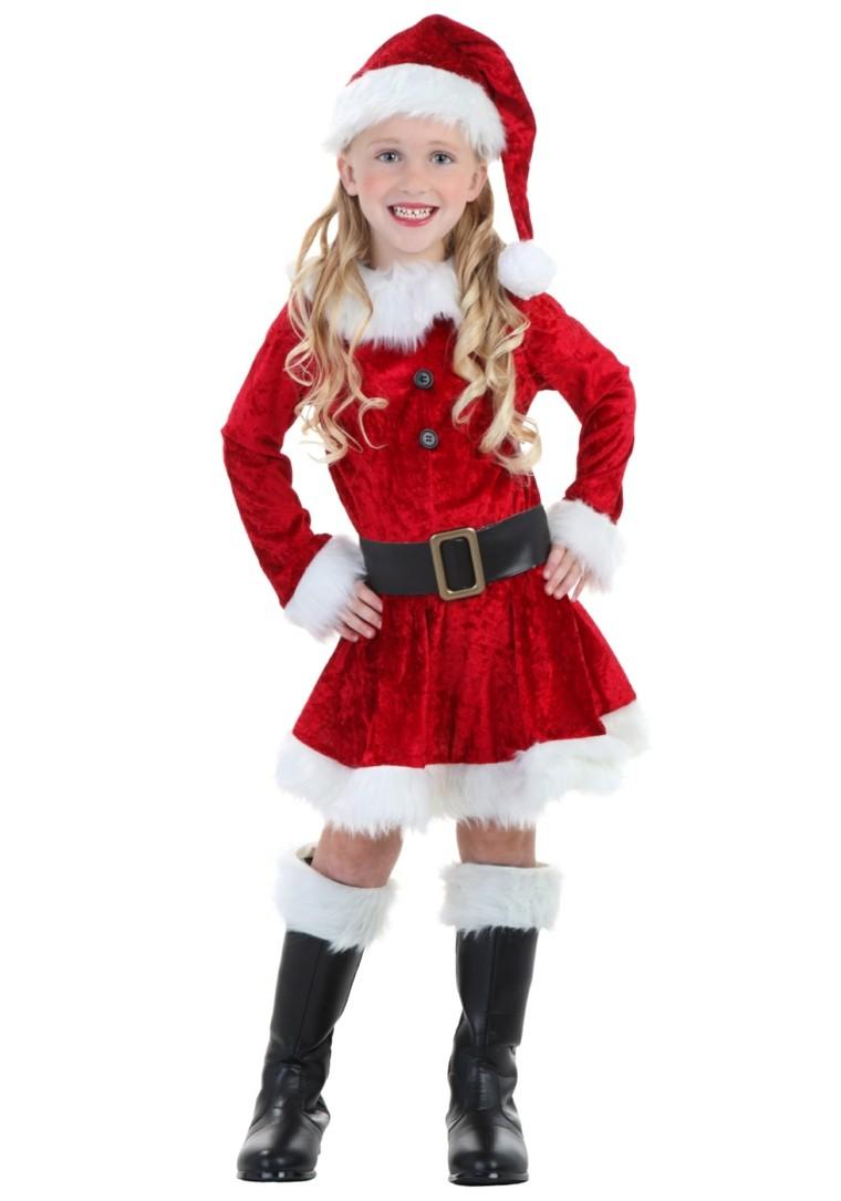 disfraces chica grande vestido navidad original papa noel ideas