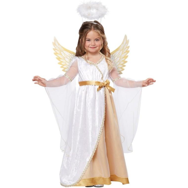 disfraces chica preciosa vestido navidad original angel ideas