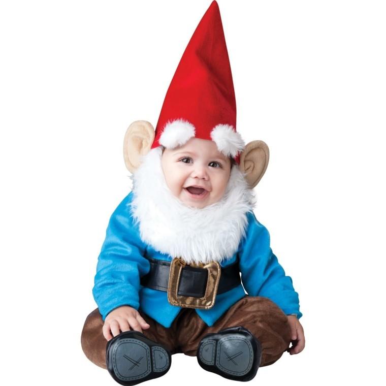 disfraces infantiles bebe vestido navidad original gnomo ideas