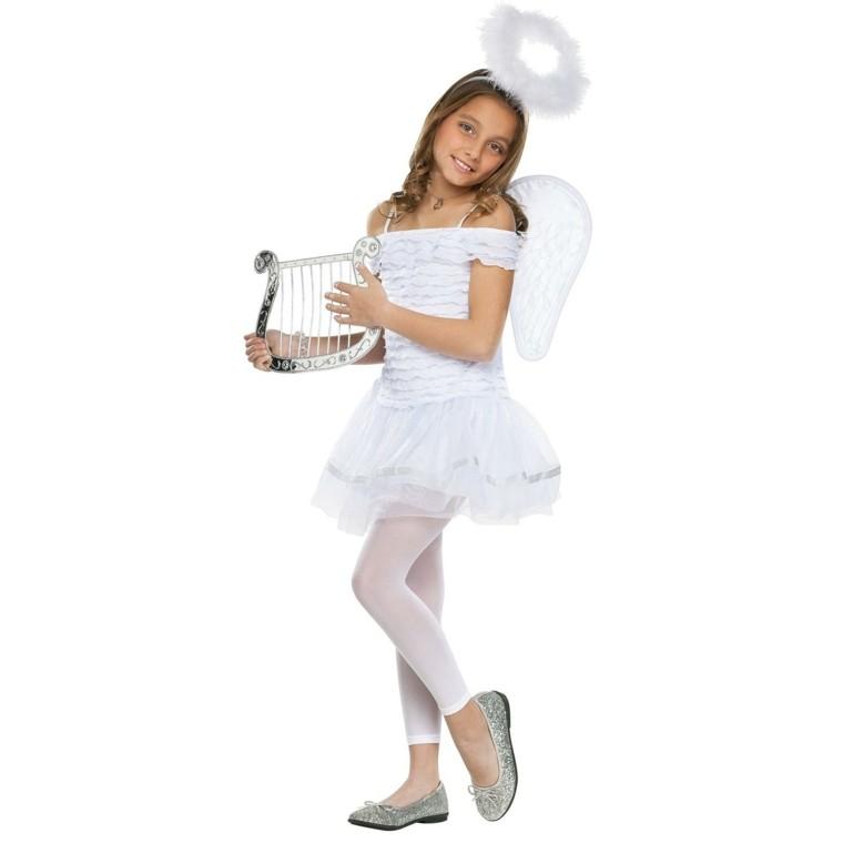 disfraces infantiles nino vestido navidad original angel cielo ideas
