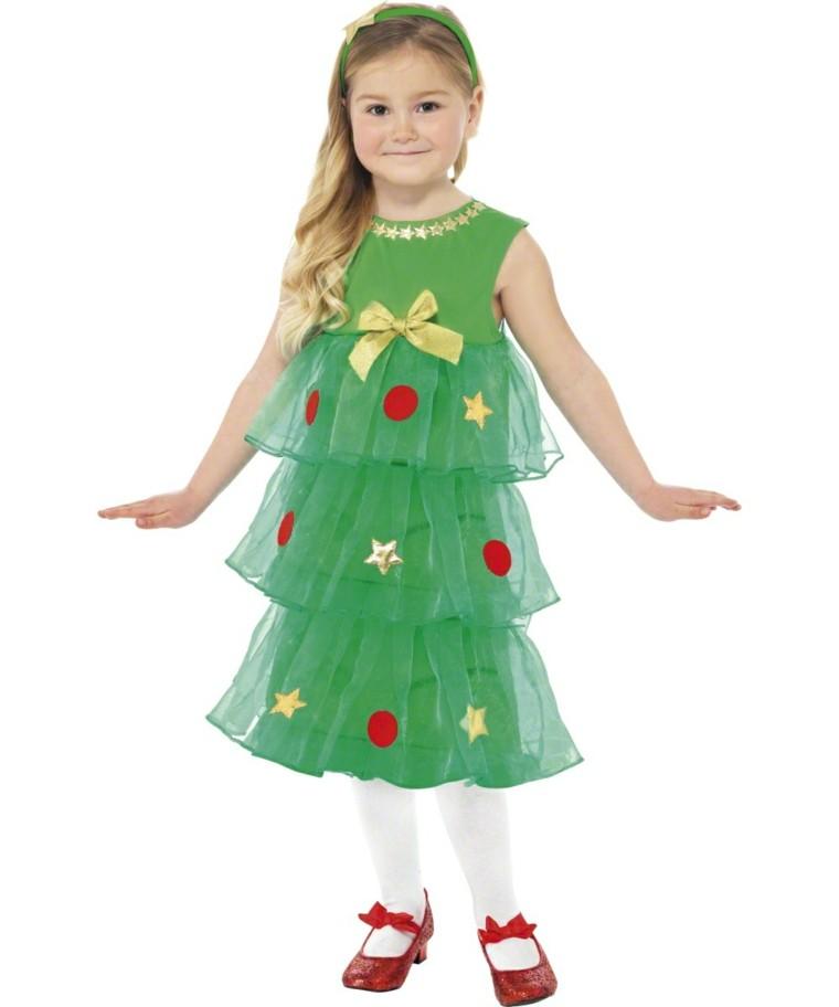 disfraces infantiles nino vestido navidad original arbol navidad ideas
