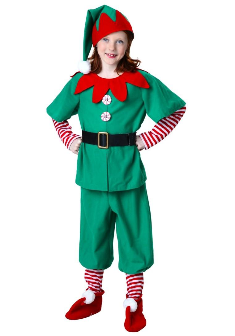 disfraces infantiles nino vestido navidad original ayudante papa noel ideas