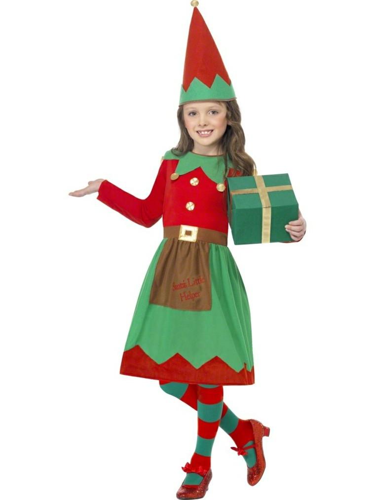 disfraces infantiles nino vestido navidad original elfa preciosa ideas