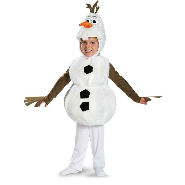 disfraces nino vestido navidad original muneco nieve ideas