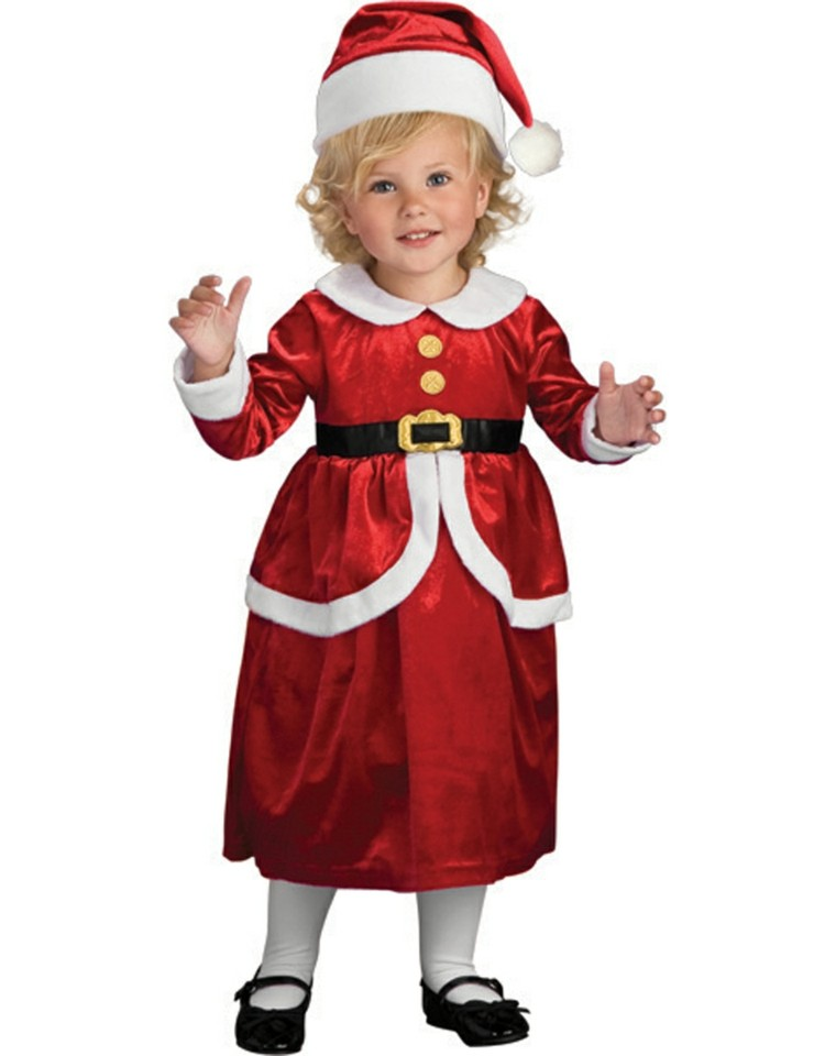 disfraces nino vestido navidad original papa noel chica ideas